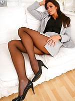 pictures fat women nylons